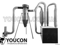 Аэродинамическая сушка для опилок 300 кг