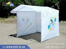 Агитационные партийные палатки для выборов и акций