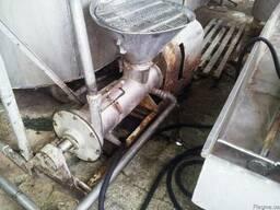Агрегат для змішування молока з сипучими