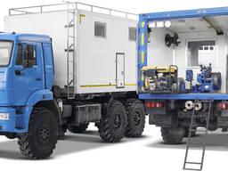 Агрегат дослідження свердловин (Краз, МАЗ)
