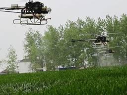 Агрохімічні послуги дронами гвинтокрилами безпілотниками