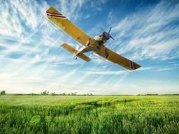 Агроуслуги по авиа опрыскиванию полей авиацией