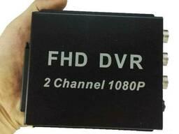 AHD видеорегистратор на 2 камеры Pomiacam MDVR для такси, автобусов, грузовиков, 2 Мп. ..