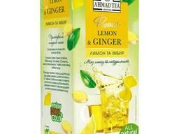 Ахмад Ти чай травяной пакетированный Фьюжн Лимон и имбирь. ..