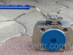 AISI304 РУ16 кран шаровый нержавеющий межфланцевый