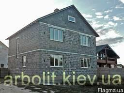 Арболит блок 200х300х400/200x300x500