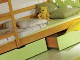 Акция! кровать двухъярусная Jarek матрасы ящики - фото 4