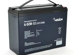 Аккумулятор для инвалидной коляски AGM Merlion 6-DZM-32, 12В