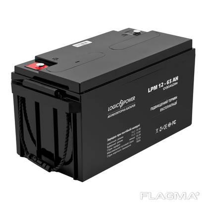 Аккумулятор для котла, Logic Power 12 Вольт, 65 Ач