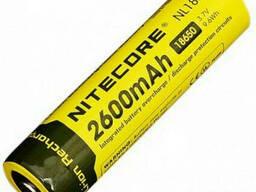 Аккумулятор литиевый Li-Ion 18650 Nitecore NL186