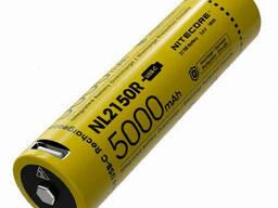 Аккумулятор литиевый Li-Ion 21700 Nitecore NL2150R 3, 6V