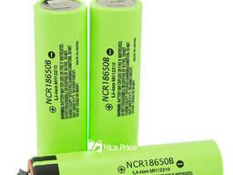 Аккумулятор Panasonic 18650 Li-ion 4. 2v NCR18650B 3400mah. ..