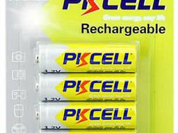 Аккумулятор Pkcell 1.2V AA 600mAh NiMH Rechargeable Battery, 4 штуки в блистере цена за. ..