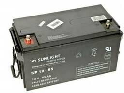 Аккумулятор Sunlight SP12-65, 12Вольт 65Ач.
