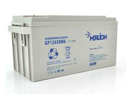 Аккумуляторная батарея Merlion AGM GP12650M6 12 V 65 Ah ( 350 x 165 x 165 ) White Q1