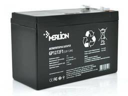 Аккумуляторная батарея Merlion AGM GP1272F1 12 V 7,2 Ah ( 150 x 65 x 95 (100) ) Black Q10