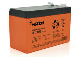 Аккумуляторная батарея Merlion AGM GP1290F2 Premium 12 V 9 Ah ( 150 x 65 x 95 (100) ). ..