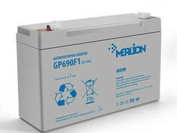 Аккумуляторная батарея Merlion AGM GP690F1 6 V 9Ah ( 150 x 49 x 95 (100 ) ) Q10