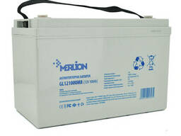 Аккумуляторная батарея Merlion GL121000M8 12 V 100 Ah (345 x 182 x 275) White Q1