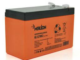 Аккумуляторная батарея Merlion GL1270F2 12 V 7Ah ( 150 x 65 x 95 (100) Orange Q10