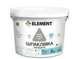 """Акриловая финишная шпаклевка """"Element"""" 8 кг"""