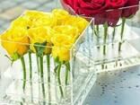 Акриловые коробки для цветов - На 9, 15 и 25 роз - фото 2
