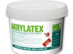 Akrylatex Эмульсионная, акриловая краска по железо-бетонну