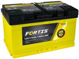 Акумулятор Fortis 110 Ah/12V новий