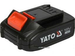Акумулятор YATO Li-Ion 18 В 2 Агод