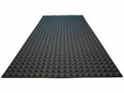 Акустический поролон Ecosound пирамида 25мм 2м х 1м Цвет. ..