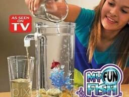 Аквариум самоочищающийся My Fun Fish (W-22), Аквариум. ..