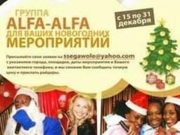 Alfa-Alfa для Ваших новогодних мероприятий
