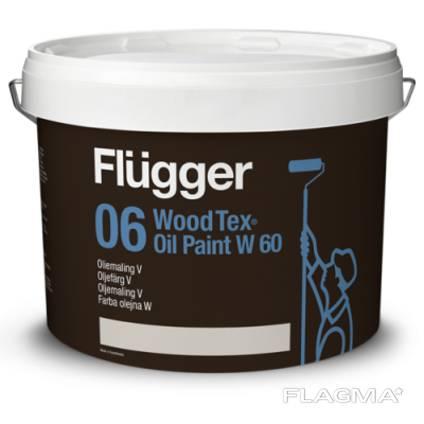 Алкидная краска для дерева Flugger (Дания)