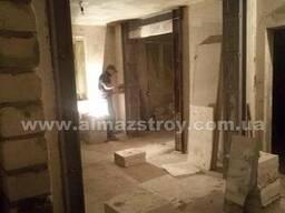 Демонтаж бетона, демонтаж стен, демонтаж перегородок.