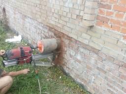 Алмазне буріння, різка бетону, демонтаж