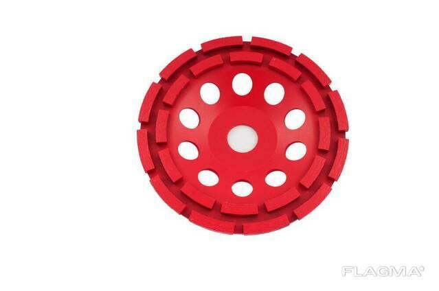 Алмазный диск для шлифовки бетона Intertool - 180 мм. ..