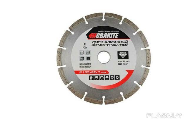 Алмазный диск Granite - 180 мм, сегмент