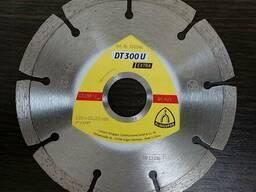 Алмазные круги Klingspor DT300U Алмазный круг сегментный
