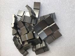 Алмазные сегменты для напайки на коронки. - фото 3
