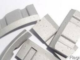 Алмазные сегменты для напайки на коронки. - фото 4