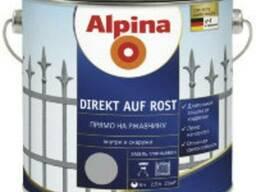 Alpina Direkt auf Rost эмаль 3 в1 для металла 2,5л от 930грн