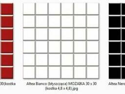 Altea Bianco, Altea Nero, Altea Rosa 30х30/4,8 x 4,8