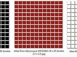 Altea Bianco, Nero, Rosa 30х30/2, 3 x 2, 3 Ceramika Paradyz