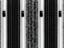 Алюминиевая грязезащитная решетка - Текстиль + Резина