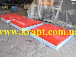 Алюминиевая крышка на технологический колодец для АЗС