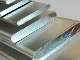 Алюминиевая полоса шина АД31Т5, АД0 Длина 3м-4м.