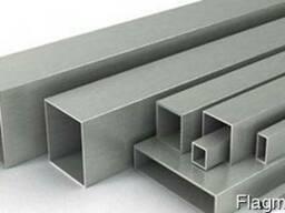 Алюминиевая профильная труба 50х50х3, 0 мм