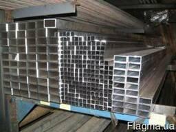 Алюминиевая труба прямоугольная 100x20x2