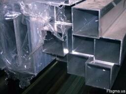 Алюминиевая труба квадратная 10x10x2.3 купить цена