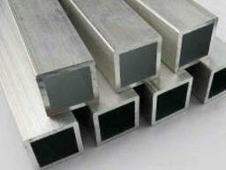 Алюминиевая труба квадратная 60х60х2,2 АД35 (6082)
